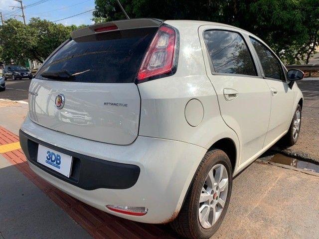 Fiat Punto 1.4 Attractive 8v Flex 4p 2013-2014 31900 - Foto 8