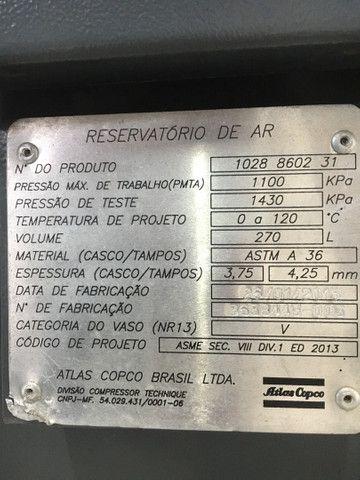 Compressor atlas copco GX7ff com 3684 horas  - Foto 3