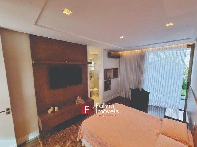 EXCLUSIVIDADE! Casa Luxuosa, Dentro de Condomínio de Alto Nível, 4 Suítes, Lazer Completo  - Foto 19