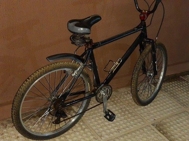 Bicicleta em alumínio com nota fiscal - Foto 5