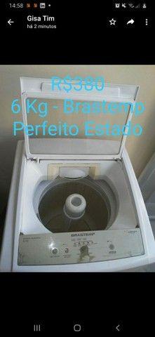 Máquina de lavar . Usada 6 kg Brastemp  - Foto 3