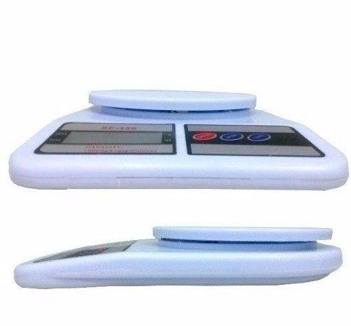 Balança Digital Eletrônica Pesa 1gr Até 10kg  - Foto 3