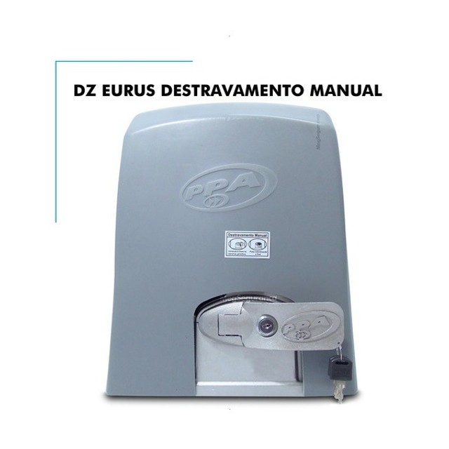 Motor De Portão Deslizante Ppa Dz Fort euros 2000 Industrial DZ.PPA-11 - Foto 4