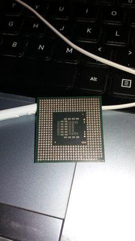 Processador de Notebook Intel Core Duo 2.20Ghz - Foto 3
