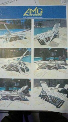 Vende se cadeiras de piscina  - Foto 2