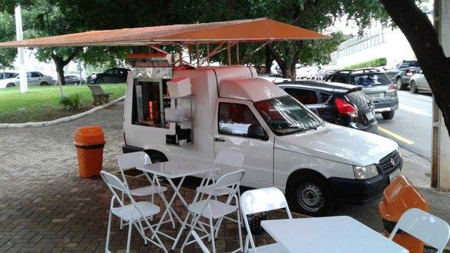 Fiorino furgão flex 2012/ Oportunidade/ churrasco grego