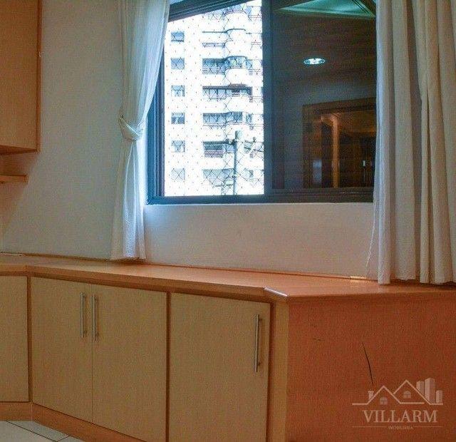 Apartamento com 4 dormitórios para alugar, 196 m² por R$ 5.700,00/mês - Vila Santo Estéfan - Foto 7