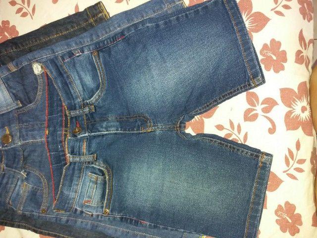 Bermuda jeans infantil masculina  - Foto 3