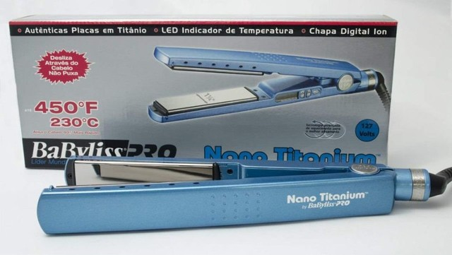 Chapinha Profissional Nano Titanium BabyLiss Pro - Foto 2
