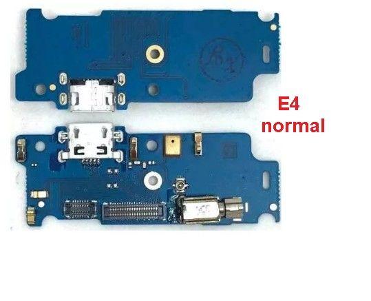 Placa conector de carga Moto E4 Normal  (Novo)