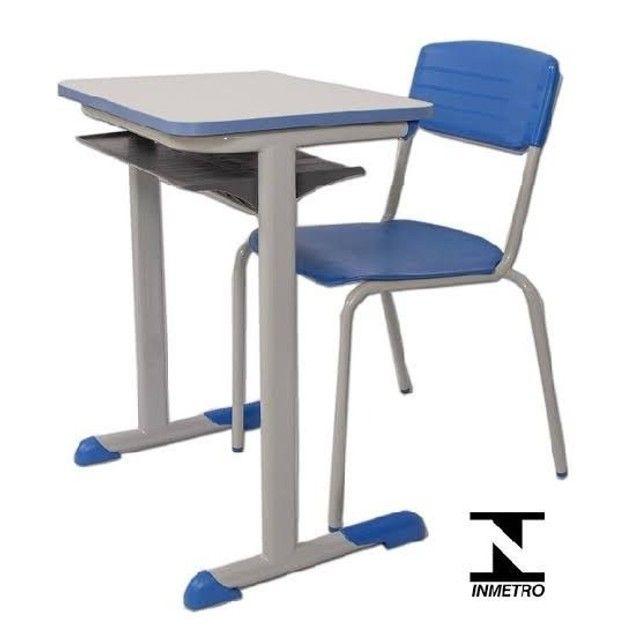 Biro e cadeira estudantil profissional aceito cartão