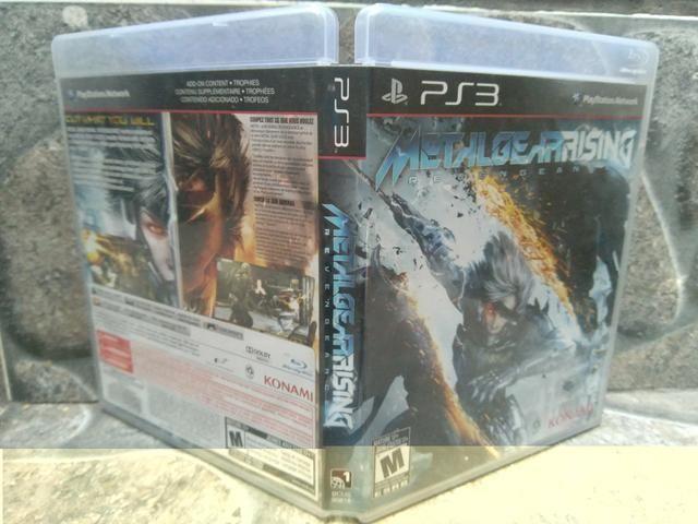 Jogo Metal Gear Rising Ps3 Midia Fisica Original! - Foto 4
