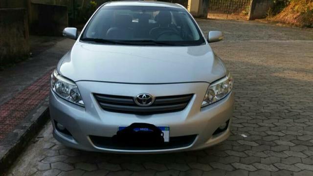 Corolla XEI TOP de linha 2009/2010, particular.  IPVA pago - Foto 2