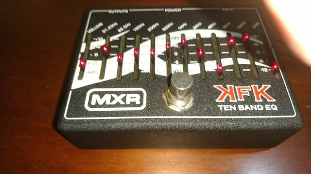 Pedal MXR Equalizador Kerry King KFK1 Ten Band EQ - Foto 3