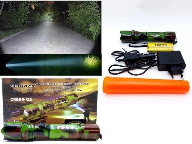 Promoção super Lanterna Tática Swat 300 metros 2 baterias (entrega grátis) - Foto 3