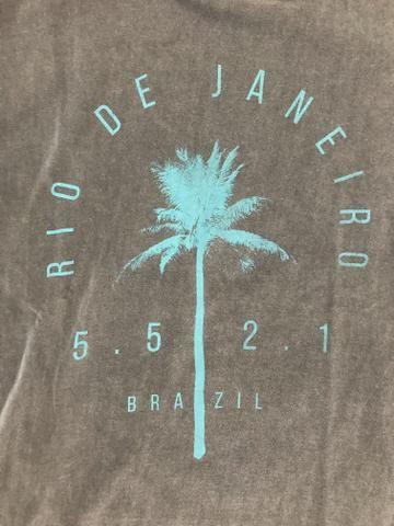 Camiseta da osklen, tamanho M - Foto 2