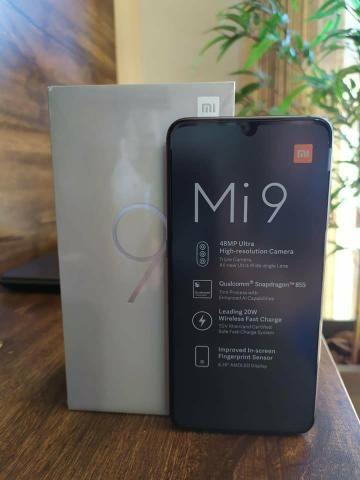Xiaomi Mi9 128 GB novo lacrado a pronta entrega