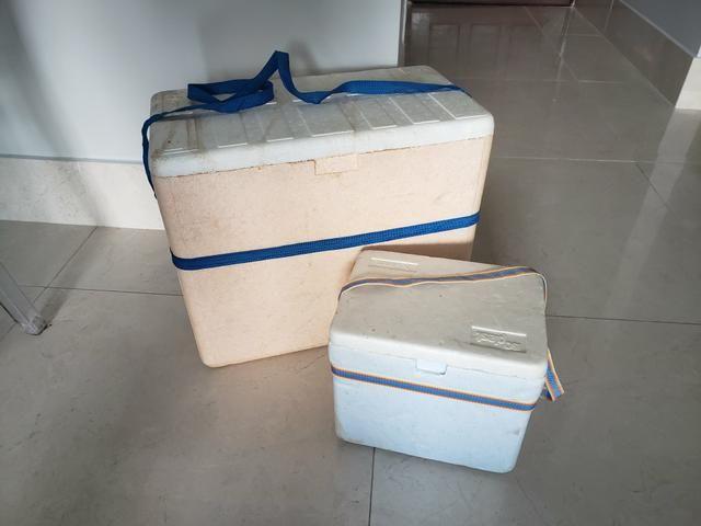 Caixas de Isopor 24l e 5l