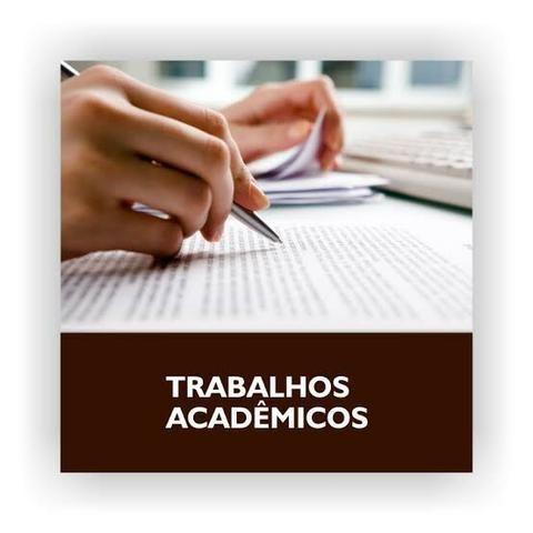 Trabalhos acadêmicos na área de humanas