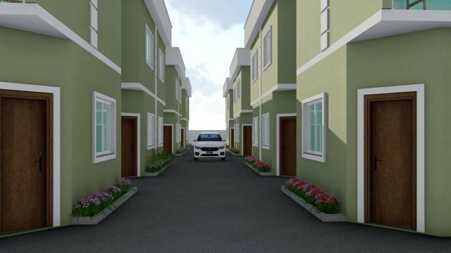 Casas Duplex Geminadas com garagem em Jardim Primavera - Foto 2