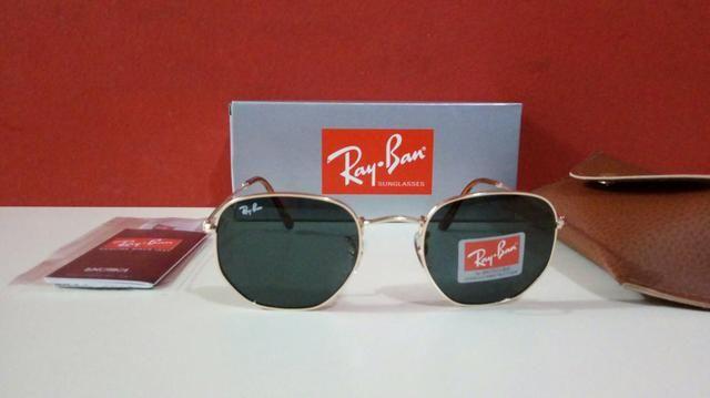 Óculos de sol Ray Ban Hexagonal Unissex Novo - Bijouterias, relógios ... 8825735c54