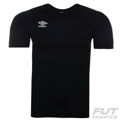 d8715e5e84 Camiseta termica umbro twr graphic preto 92%poliamida 08%elastano tam  p