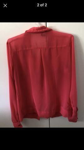Camisa rosa de botão - Roupas e calçados - Botafogo 3d745daeced3c