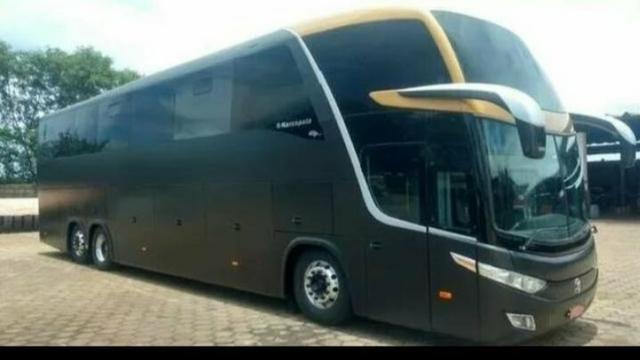 Ônibus com entrada + parcela