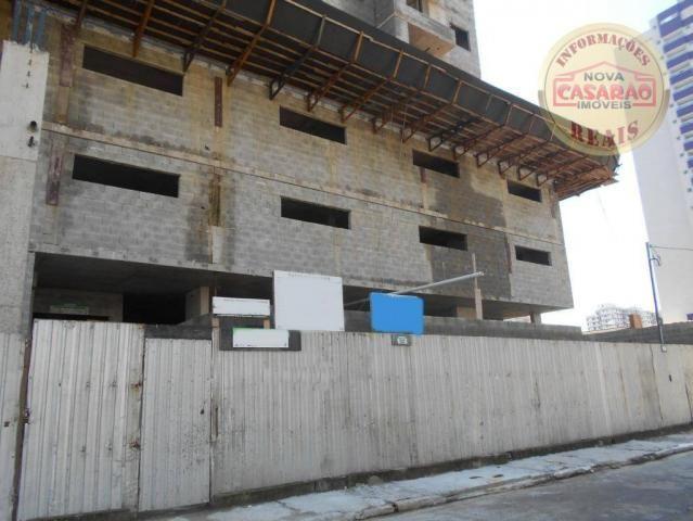Apartamento com 2 dormitórios à venda, 72 m² por R$ 362.373 - Cidade Ocian - Praia Grande/ - Foto 4