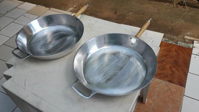 Frigideiras de alumínio batido - Foto 2