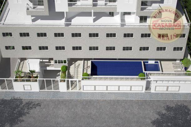 Apartamento com 2 dormitórios à venda, 72 m² por R$ 362.373 - Cidade Ocian - Praia Grande/ - Foto 5