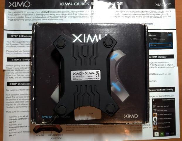Xim4 - adaptador teclado e mouse Xbox One e Playstation 4