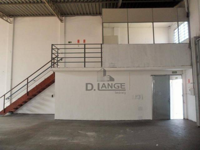 Barracão para alugar, 265 m² por r$ 4.200,00/mês - loteamento parque são martinho - campin - Foto 12