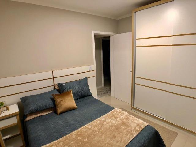 São 03 dormitórios mobiliado e decorado - Foto 8
