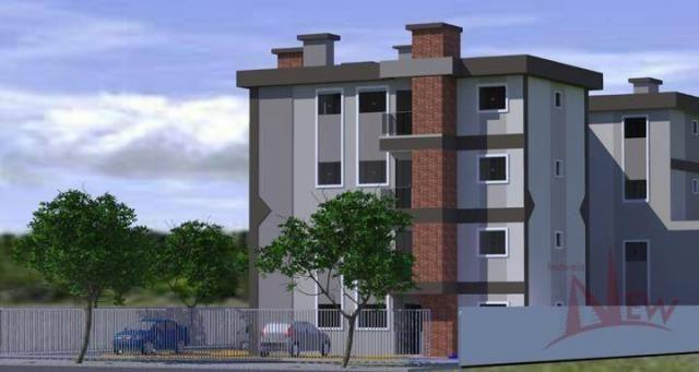 Excelente apartamento com 03 quartos (1 suíte) no Afonso Pena, São José dos Pinhais - Foto 13