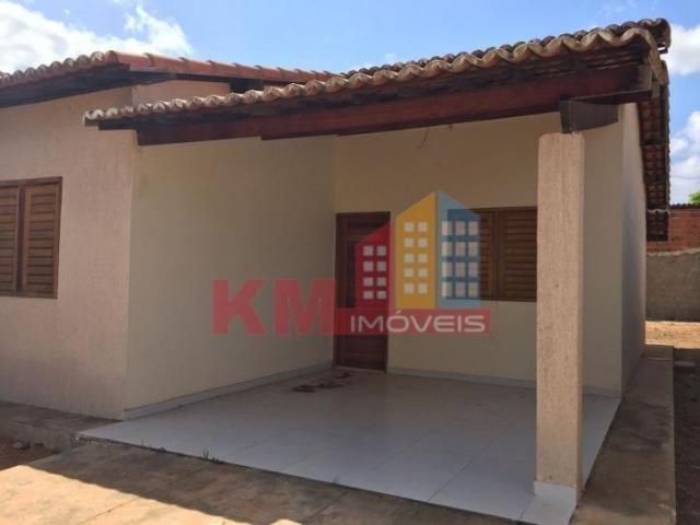 Aluga-se Casa Recém Construída no Três Vinténs - KM IMÓVEIS - Foto 2