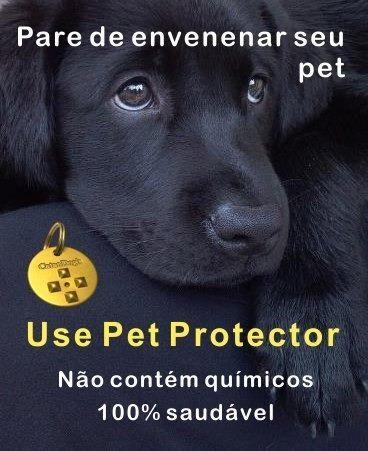 Pet Protector contra pulgas, carrapatos e mosquitos - Foto 3