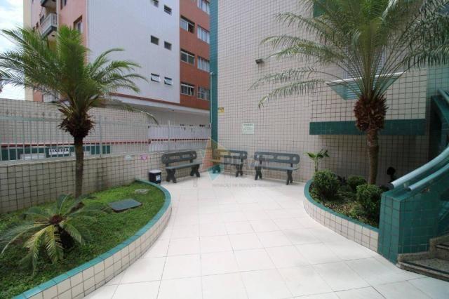 Apartamento com 1 dormitório para alugar, 45 m² por r$ 1.050/mês - tupi - praia grande/sp - Foto 10