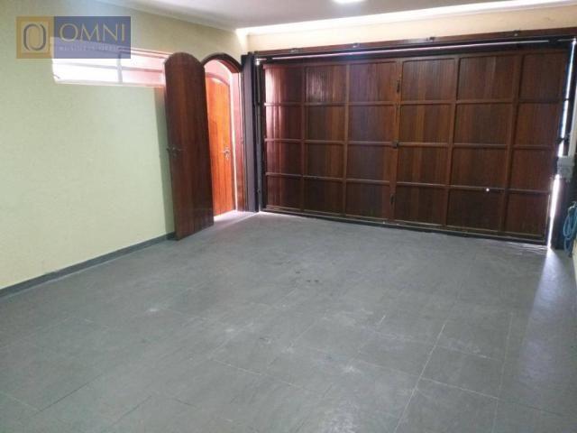 Sobrado com 4 dormitórios à venda, 208 m² por R$ 615.000,00 - Vila Valparaíso - Santo Andr - Foto 2