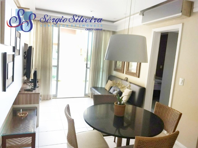 Apartamento no Palm Beach no Porto das Dunas com 2 quartos - Foto 6
