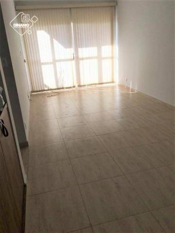 Apartamento com 2 dormitórios para alugar, 80 m² por R$ 1.100,00/mês - Centro - Ribeirão P - Foto 2