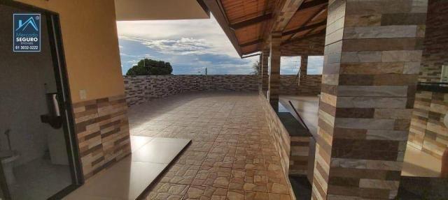 Casa ESCRITURADA, 330 m² por R$ 1.200.000 - Cidade Do Entorno - Águas Lindas de Goiás/GO - Foto 2