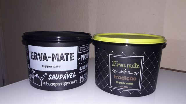Produtos Tupperware novos