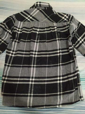 Camisa de flanela Thony nova - Foto 3