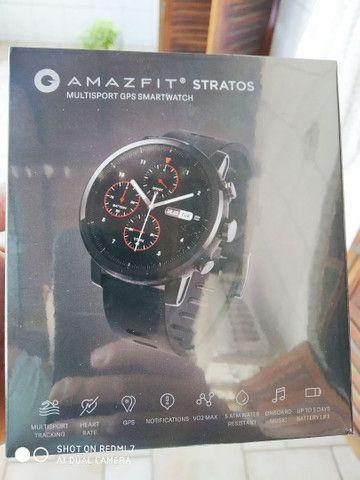 Relógio Smartwatch Amazfit Stratos 2 novo lacrado - Foto 2