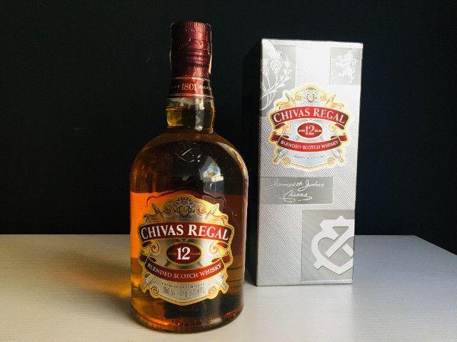 Whisky Chivas Regal 12 Anos 1L (Entrega Gratis) - Foto 2