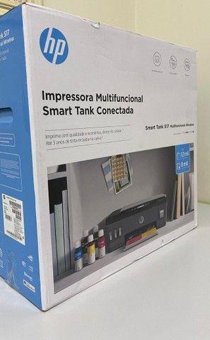 Impressora Multifuncional HP Smart Tank 517, Jato de Tinta, Colorida, Wi-Fi, Bivolt - Foto 2