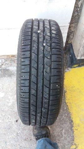 1 pneu semi novo