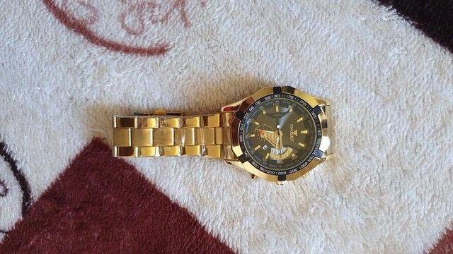 Relógio cor Gold - Foto 3
