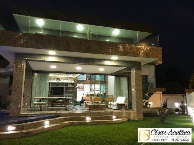Alugo  linda Casa Independente Alto Padrão 4/4 suítes Na Orla de Vilas do Atlântico.